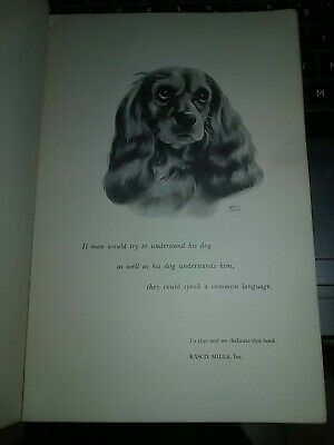 Vintage 1950 Dog Owners Guide by Kasco Mills Illustrated instructional Book Dogs