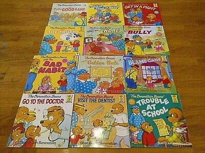 The Berenstain Bears - 12 Children's Soft Cover Picture Books