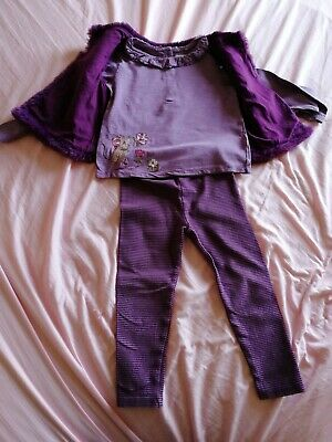 Pre-Owned Next Girls 4 Piece Outfit Ages 3-4 Years