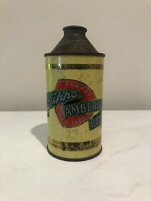 Gipps Amerlin Beer Can Cone Top Collectible