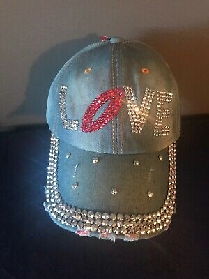 Denim LOVE Desinger Hat