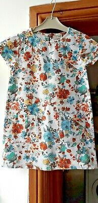Girls  Next floral dress..age 6 years
