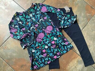 Girls Next Floral Tunic & Leggings Set. Age 5 Years. BNWT/BNWOT