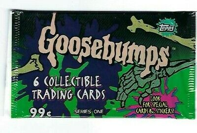 Goosebumps series 1  , trading cards  pack