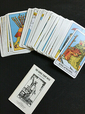 Rider Tarot Card Cards Deck -  REGULAR size + Instructions - no box