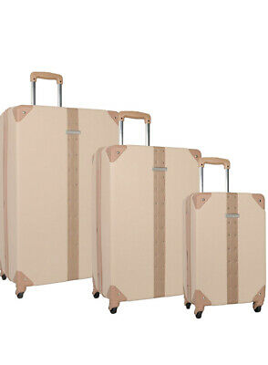 """Vince Camuto Hardside Spinner Latte, 28"""" Inch Large Suitcase. Used Only Once."""