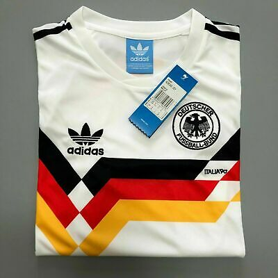 Retro Jersey West Germany 1990 Shirt Memorabilia Football Shirts  UK SELLER