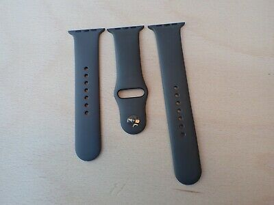 Genuine RARE Apple Watch Ceramic Edition band strap Grey / Storm - Rare 42mm 44m