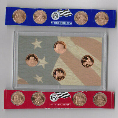 2009 Lincoln Cent Bicentennial Complete Set with P&D Mint Set & 4 coin Proof Set
