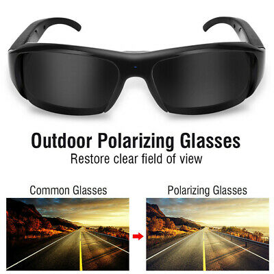 1080P Mini HD Spy Sports Camera Glasses Hidden Eyeglass Sunglasses Eyewear DVR·