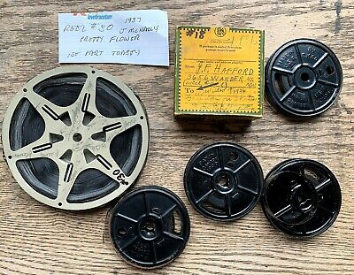 1930s Lot 6 REELS 8mm FILM 1936 - 37 Washington DC ANTIQUE Home MOVIES Films