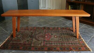 Good Quality Retro Danish Teak 4Ft Coffee Table Fantastic Condition .