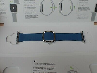 Apple Watch Genuine Modern Buckle Band (40mm/38mm) - Cape Cod Blue - Large - New