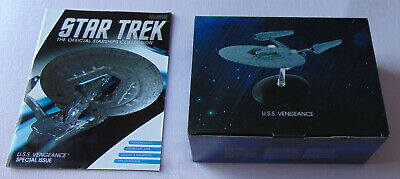 Star Trek Eaglemoss Special Issue USS Vengeance & Magazine Into Darkness Movie