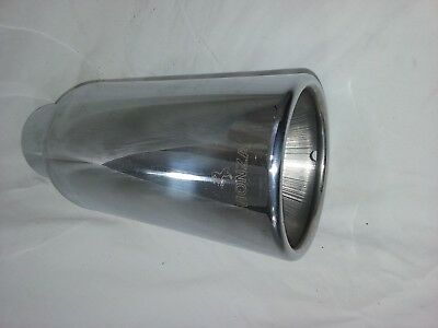 Monza Accessory Exhaust Tip New Stainless     -  DW371