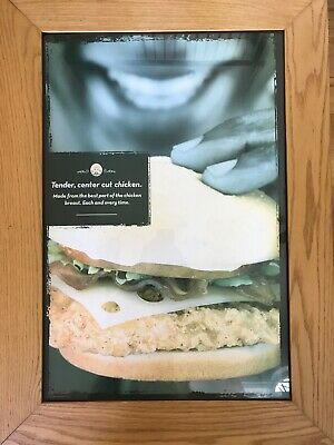 Wendy's poster (good condition)