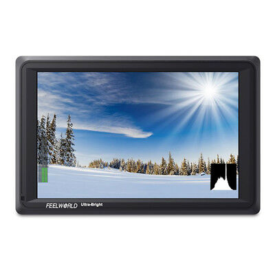 Feelworld FW279S 7 Inch On Camera DSLR Field Monitor Full HD Focus Video Assist