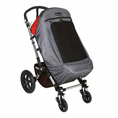 SnoozeShade Plus Deluxe | Universal fit sun shade for strollers | 360-degree