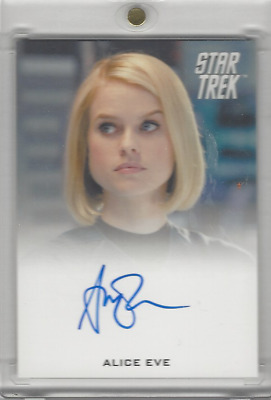 Star Trek: Movies Into the Darkness ALICE EVE as CAROL MARCUS Full Bleed SP Auto