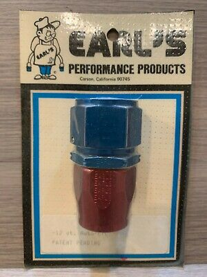 Earl's  -12 Auto Fit Adapter Fitting Anodized Aluminum 300112