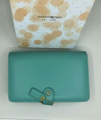 Websters Pages Personal Planner Binder TEAL