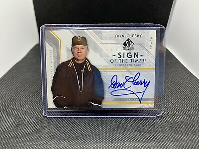 2006-07 SP Authentic Don Cherry Sign Of The Times Auto
