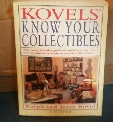 Kovels' Know Your Collectibles  Guide To Antiques Pb Book