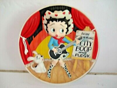 MINT CONDITION BETTY BOOP = BEST Li'L COWGIRL  - Collectors Plate  B5689