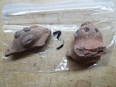 2-RARE Saladoid period pottery Morphology FIGURE  400 BC 600 AD LOT 3