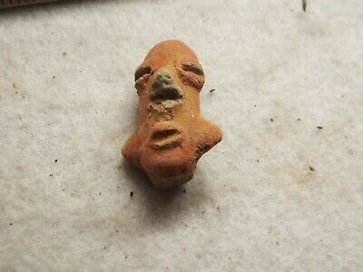 RARE Aztec, MAYAN  c. 1400-1500 AD. CLAY HEAD LOT B-13