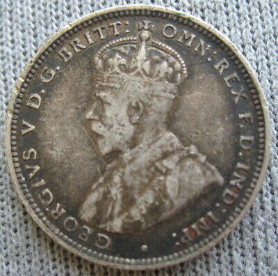 British West Africa 1916 Silver 1 Shilling