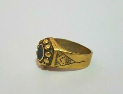 ancient antique roman bronze ring artifact legionary authentic rare type