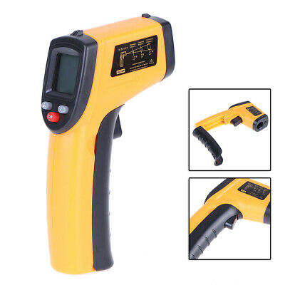Industrial LCD Digital IR Infrared Thermometer Non-contact Temperature ° C &° F