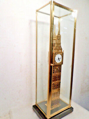 "London's Big Ben Clock 24"" High-Solid Heavy Brass With Dome/Case--STUNNING CLOCK"