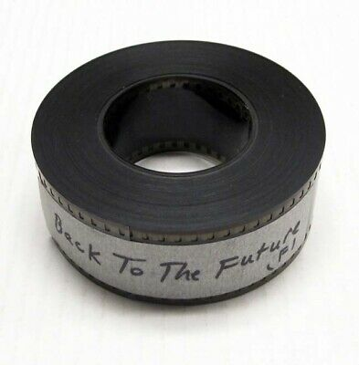 BACK TO THE FUTURE great FLAT movie trailer on 35mm film 1985 (pv1449)