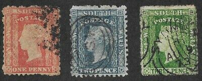 used New South Wales #35-37 - VF