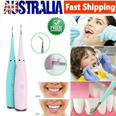 Oral Clean Ultrasonic Dental Scaler Teeth Whitening Tartar Plaque Stains Removal