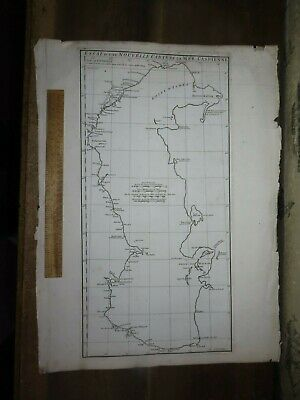 1754 MAP of the CASPIAN SEA by D'ANVILLE includ BAKU AZERBAIJAN RUSSIA DAGESTAN