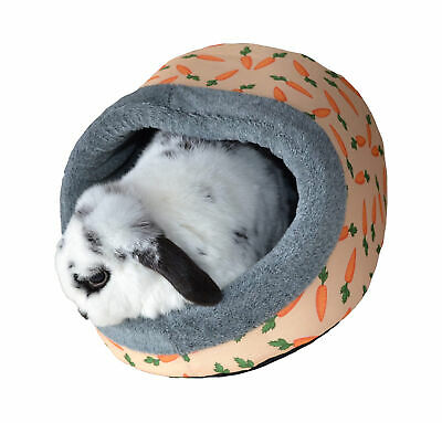 Rosewood Snuggles Carrot Plush Hooded Snuggle Bed