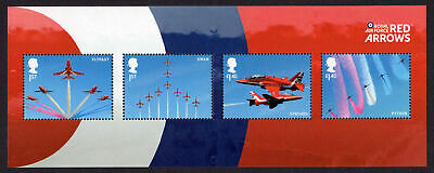 GB 2018 RAF Red Arrows unmounted mint mini / miniature sheet stamps MNH