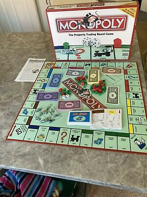 Monopoly Board game Pre Owned