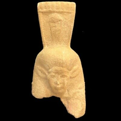 Egyptian Statue Fragment, Late Period 664 - 332 Bc (9)