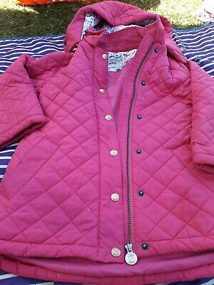 Joules Girls Coat Age 8