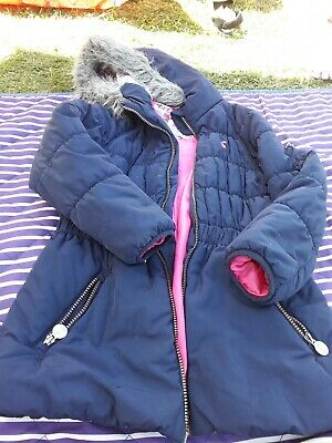 Girls joules coat age 8