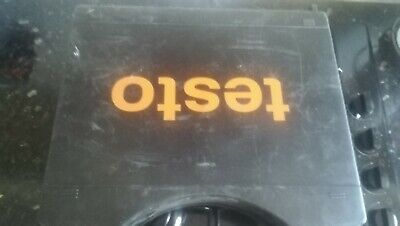 Testo 310 Flue Gas Analyser will need calibration  in good working order