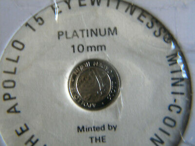1.3 gram coin platinum 10mm the apollo