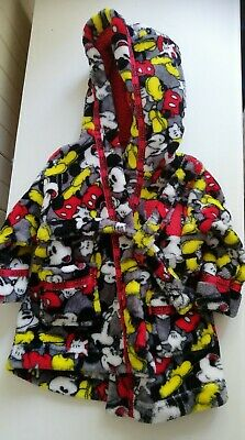 Baby Boys 6-9 Months Mickey Mouse Dressing Gown