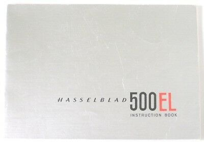 Hasselblad 500EL Instruction Manual early 1965