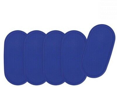 Tupperware Modular Mates Oval Seal Replacement Lid 1616 Sapphire Blue - Qty-1