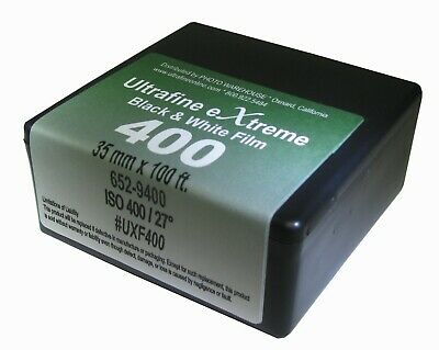 NEW Ultrafine eXtreme 400 B & W 35mm x 100 Ft. film Roll Fresh 06/2024 Dating
